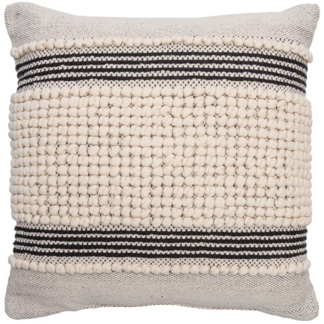 Devi Clyde Textured Stripe Throw Pillow - 20x20""
