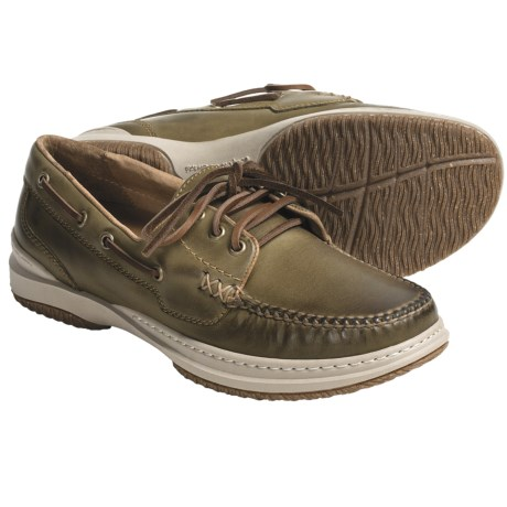 Acorn Sport Moc Boat Shoes - Handsewn Leather (For Men)