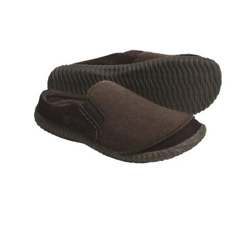 Acorn Earthroamer Clogs - Wool, Leather (For Men)