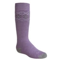 Lorpen Classic Ski Socks - 2-Pack, Merino Wool Blend, Over the Calf (For Little and Big Kids)