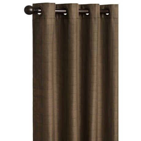 "Commonwealth Home Fashions Glen Plaid Curtains - 84"", Grommet-Top"