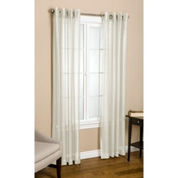 """Commonwealth Home Fashions Crescendo Curtains - 112x63"""", Grommet-Top"""
