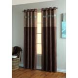"Home Studio Circa Curtains - 84"", Grommet-Top, Faux Suede"
