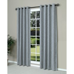"Commonwealth Home Fashions Highland Tweed Curtains - 110x84"", Grommet-Top"
