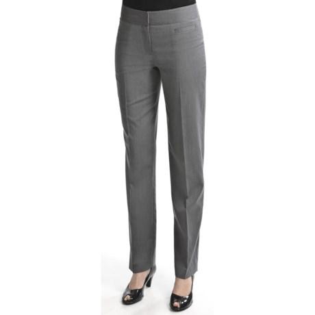 Atelier Luxe Microstripe Pants - Slim Leg (For Women)