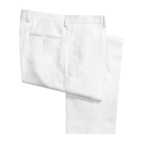 Lauren by Ralph Lauren Linen Pants - Flat Front (For Men)