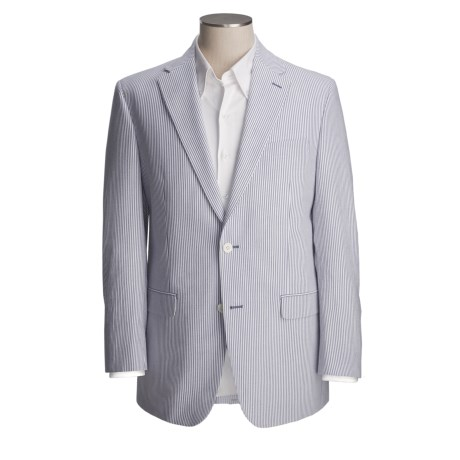Lauren by Ralph Lauren Striped Sport Coat - Cotton Seersucker (For Men)