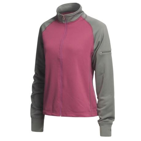 10,000 Feet Above Sea Level Soft Shell Jacket - Raglan Sleeves (For Women)