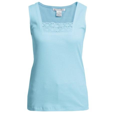 Shaver Lake Crocket Lace Trim Tank Top (For Women)