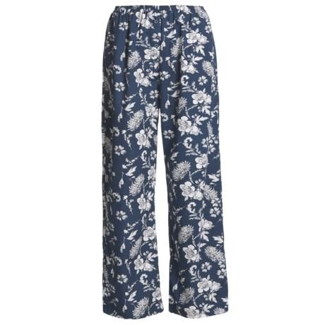 Poplin Loungewear Pants (For Women)