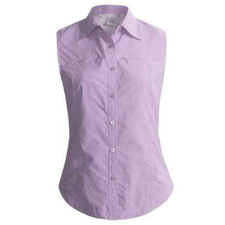 Nina Capri Outdoor Shirt - Sleeveless (For Women)