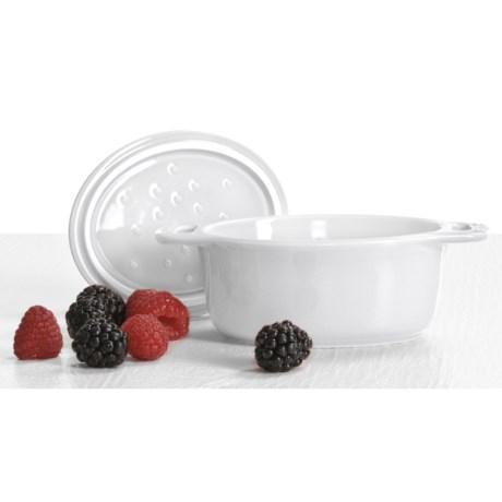 Staub Ceramic Mini Oval Cocotte - 0.25-Qt.