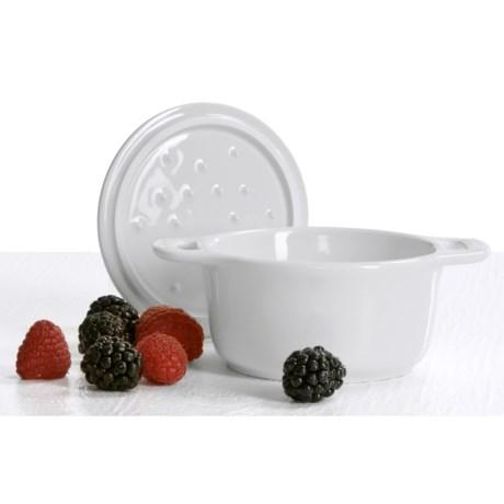 Staub Ceramic Mini Round Cocotte - 0.25-Qt.