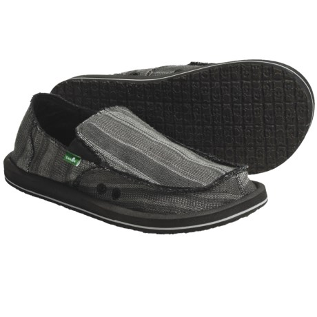 Sanuk Donny Sidewalk Surfer Shoes - Slip-Ons (For Men)