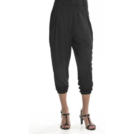 Joan Vass Harem Pants (For Women)