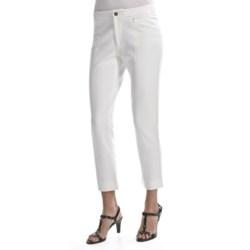 Joan Vass Seamed Ankle Pants (For Women)