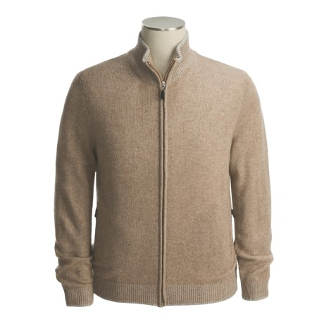 Isaiah Ciarrai Cashmere Cardigan Sweater (For Men)