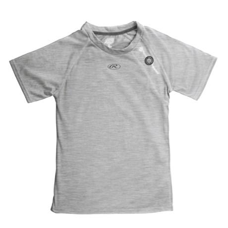 Rawlings Power Balance Heat Fusion Tech T-Shirt - Short Sleeve (For Youth Boys)
