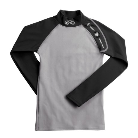 Rawlings Power Balance Arctic Fusion Compression Top - Long Sleeve (For Youth Boys)