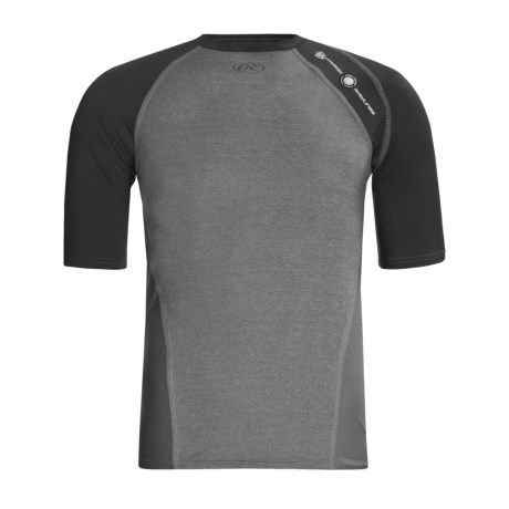 Rawlings Power Balance Heat Fusion Compression T-Shirt - Elbow Sleeve (For Men)