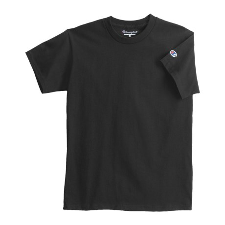 Champion Cotton Jersey T-Shirt - Short Sleeve (For Youth)