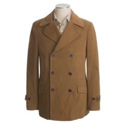 Hart, Schaffner & Marx Twill Pea Coat - Cotton (For Men)