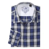Hart, Schaffner & Marx Plaid Sport Shirt - Spread Collar, Long Sleeve (For Men)
