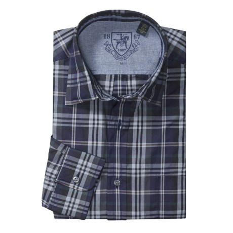 Hart, Schaffner & Marx Plaid Sport Shirt - Long Sleeve (For Men)