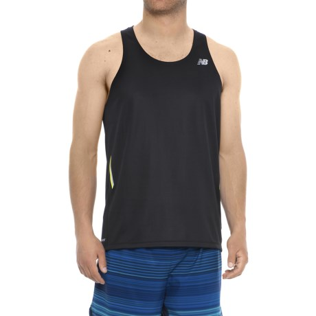 New Balance Ice Singlet Moisture Wicking Tank Top (For Men)
