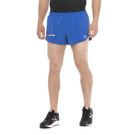 "New Balance Impact Split Shorts - 3"", Built-In Briefs (For Men)"