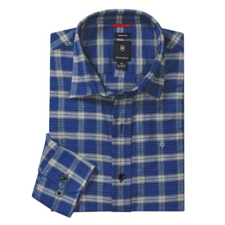 Victorinox Plaid Flannel Shirt - Long Sleeve (For Men)