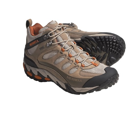 Merrell Refuge Core Mid Ventilator Hiking Boots - Waterproof (For Men)