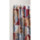 """Ivy Hill Home Hampstead Shower Curtain - 72x72"""", Cotton"""