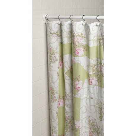 Ivy Hill Home Annette Shower Curtain - Cotton