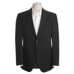 Jack Victor Solid Cashmere  Blazer - Fabric by Loro Piana (For Men)