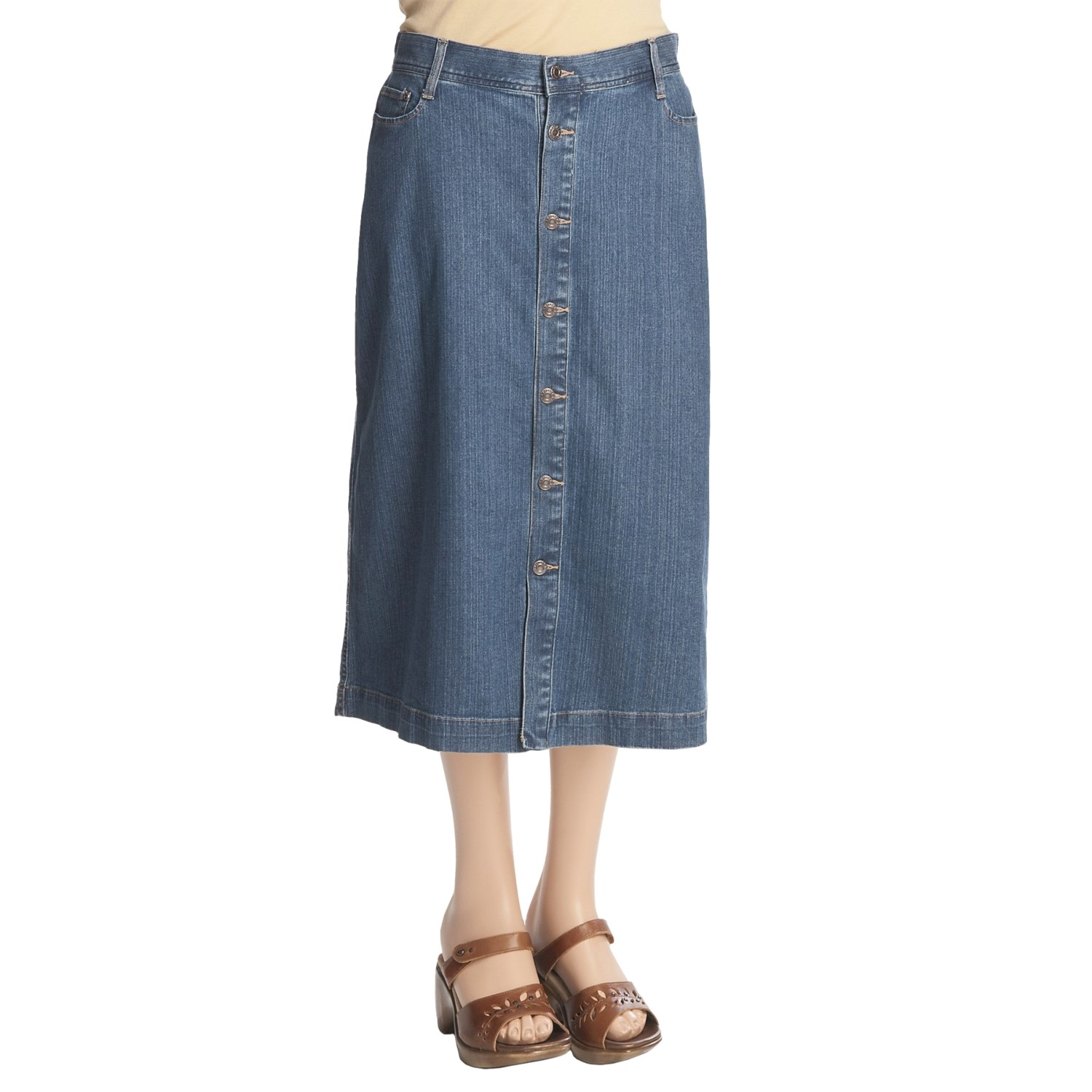 plus size jean skirts cheap am