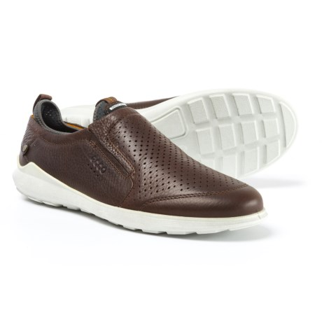 ECCO Transit Casual Shoes - Leather, Slip-Ons (For Men)