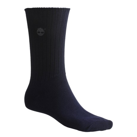 Timberland 2-Pack Socks - Lightweight, Crew (For Men)