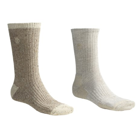 Timberland 2-Pack Crew Socks - Stretch Cotton (For Men)