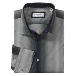 Equilibrio Tonal Stripe Sport Shirt - Long Sleeve (For Men)