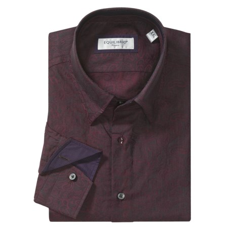 Equilibrio Paisley Sport Shirt - Long Sleeve (For Men)