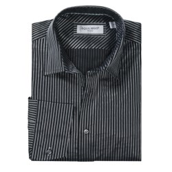 Equilibrio Stripe Sport Shirt - Long Sleeve (For Men)