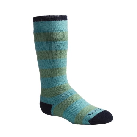 Lorpen Over-the-Calf Ski Socks - Merino Wool, Heavyweight (For Toddlers)