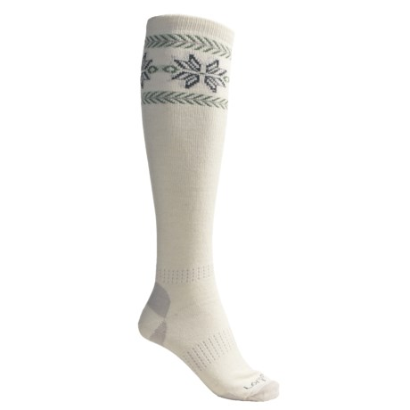 Lorpen Snow Star Ski Socks - Merino Wool, Midweight (For Women)