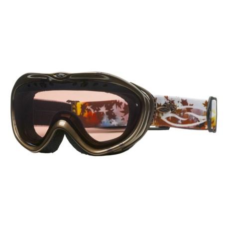 Smith Optics Anthem Snowsport Goggles - Spherical Mirror Lens (For Women)