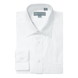 Hickey Freeman Solid Broadcloth Dress Shirt - Long Sleeve (For Men)