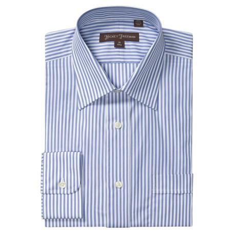 Hickey Freeman Bengal Stripe Dress Shirt - Cotton, Long Sleeve (For Men)