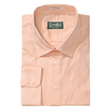 Gitman Brothers Dress Shirt - Spread Collar, Long Sleeve (For Big and Tall Men)