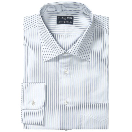 Gitman Brothers Dress Shirt - Spread Collar, Long Sleeve (For Big and Tall Men)