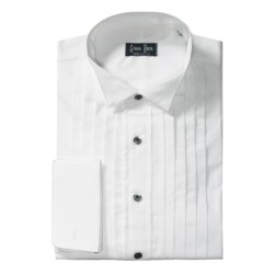 Gitman Brothers Wing Collar Formal Dress Shirt - Cotton, Long Sleeve (For Tall Men)